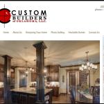 Custom Builders of Oklahoma website