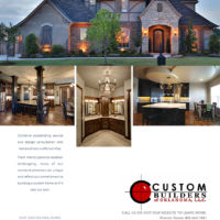 Ad Design- Custom Builders of Oklahoma