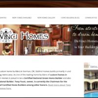DaVinci Homes website