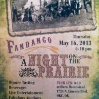 Fandango event materials