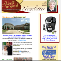 Well Preserved e-newsletter